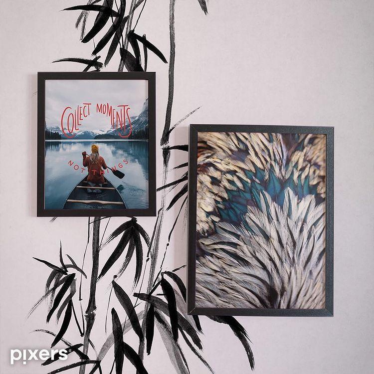 COMO DECORAR PARED SALON CON FOTOS GRANDES: PIXERS 3
