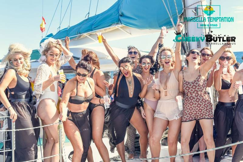 Marbella Temptation - las ideas más originales para una despedida de soltera en Marbella 18