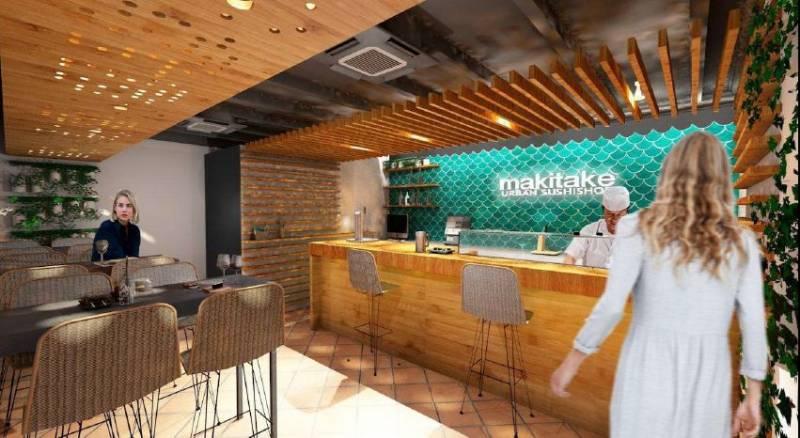 restaurante japonés: Makitake desembarca en Torremolinos 1