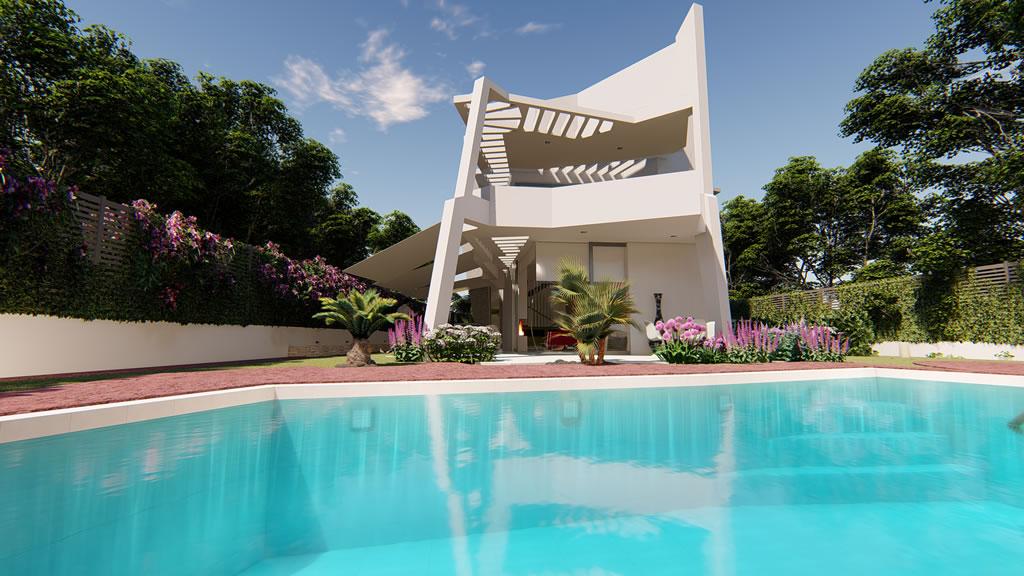 ¿Una villa de diseño en Marbella y Estepona? OTIUM PERNET 5