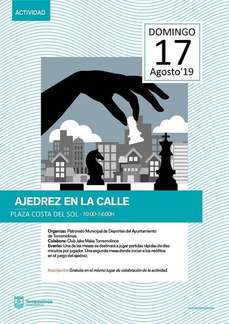 sábado 17 de agosto 2019 - Torremolinos - Ajedrez en la Calle 1