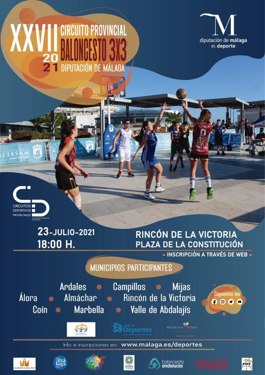 XXVII Circuito Provincial de Baloncesto 3×3 de la Diputación - 23 de julio 1