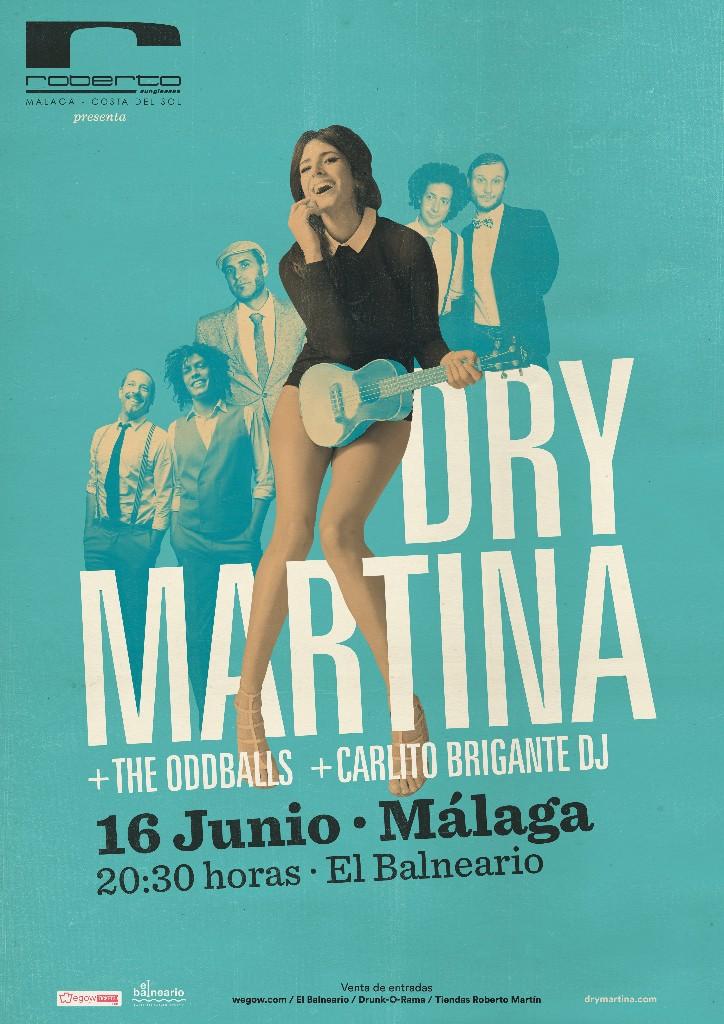 Dry Martina en concierto en su Málaga 1