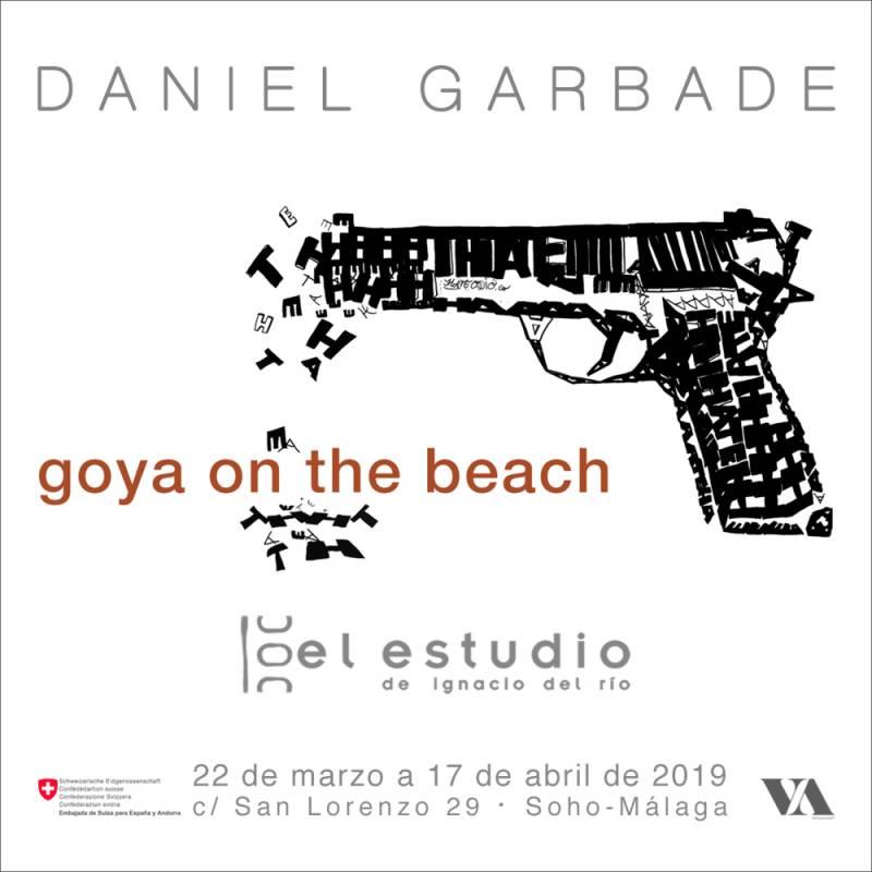 Goya on the beach, la nueva exposición de Garbade en Málaga 1