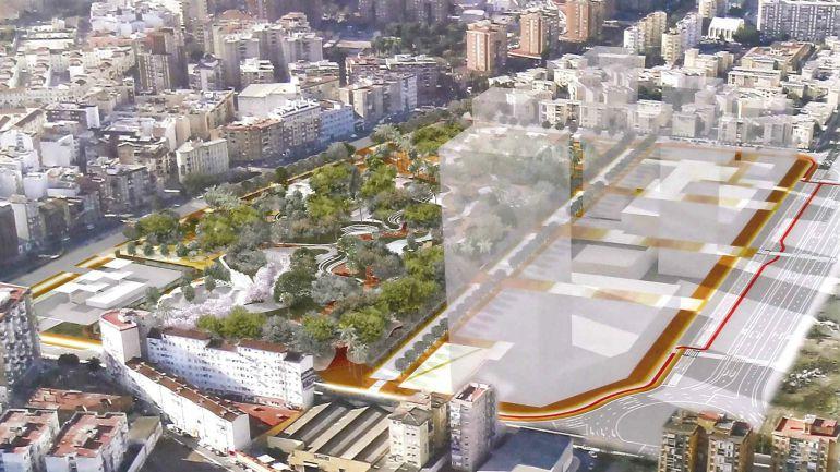 PARQUES EN MALAGA PARA VISITAR: El proyecto de Bosque Urbano de Málaga 3