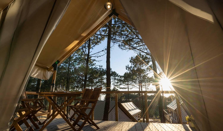 acampar de lujo en la Costa del Sol 1