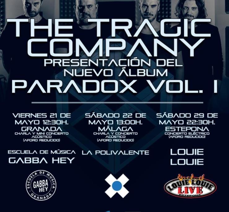 The Tragic Company es una banda cuyos miembros vienen de Málaga y Granada 2