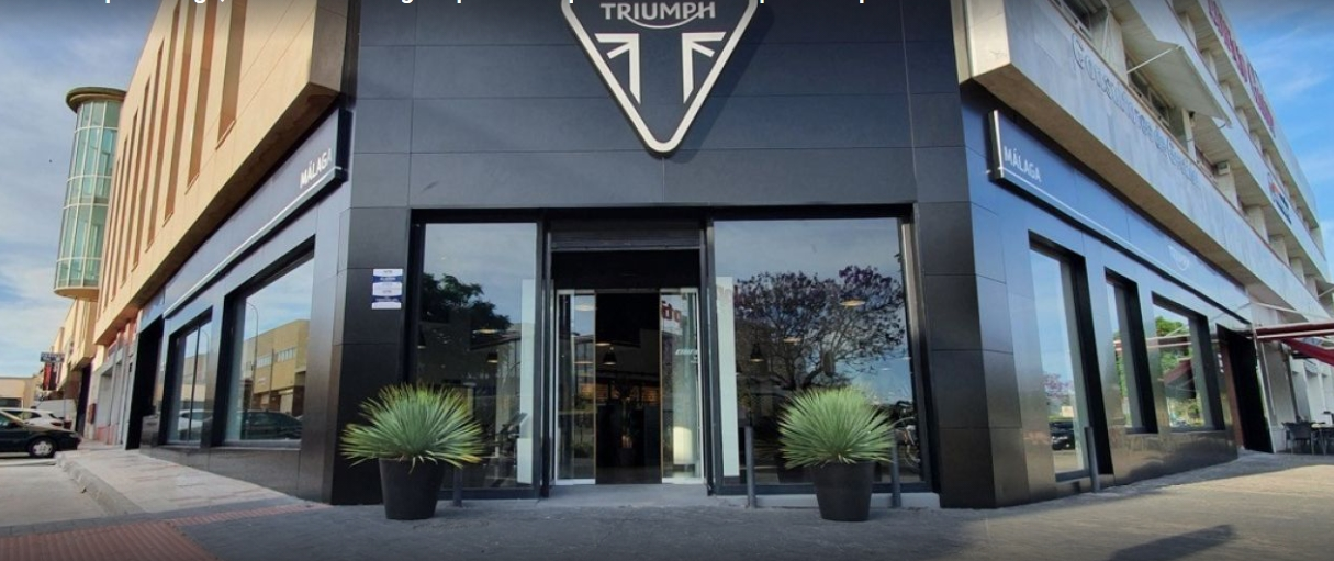 empresas malagueñas innovadoras: Triumph Málaga 1