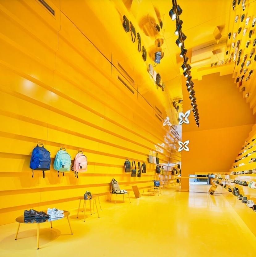 tienda munich en malaga: Studio animal comparte su llamativo diseño amarillo 1