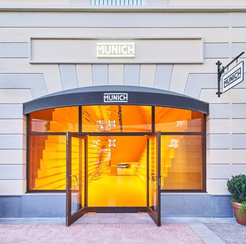 tienda munich en malaga: Studio animal comparte su llamativo diseño amarillo 2