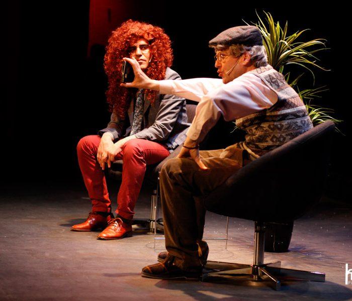 Viejóvenes, con Ernesto Sevilla y Joaquín Reyes en el Teatro Málaga - treinta NOV AL tres DIC 2