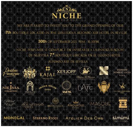 Niche Perfumes: segunda boutique de lujo en Sevilla 3