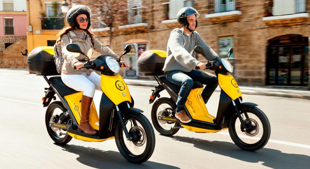 Alquiler de Motos Eléctricas en Málaga: Muving 1